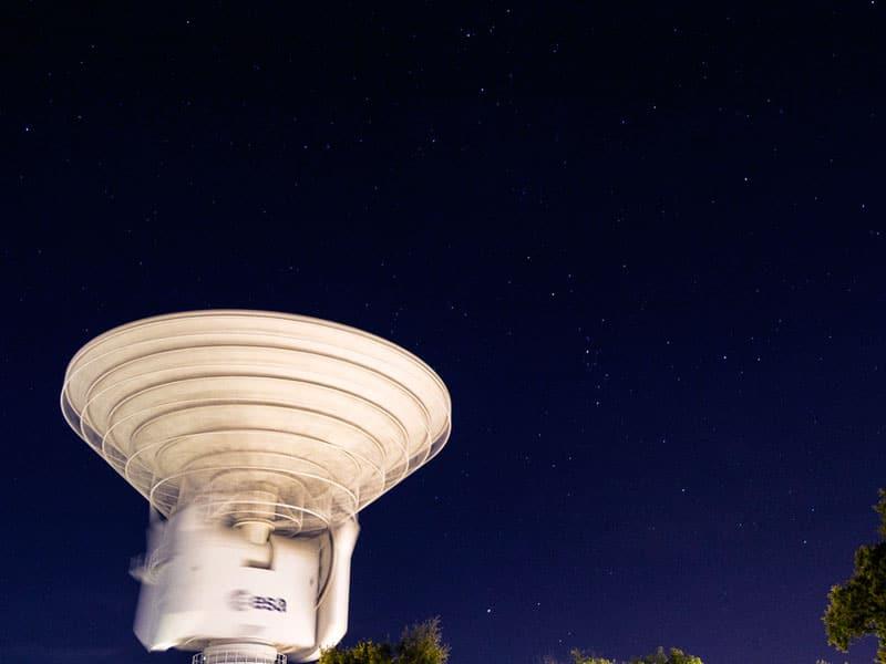 estación ESA 2 Cebreros