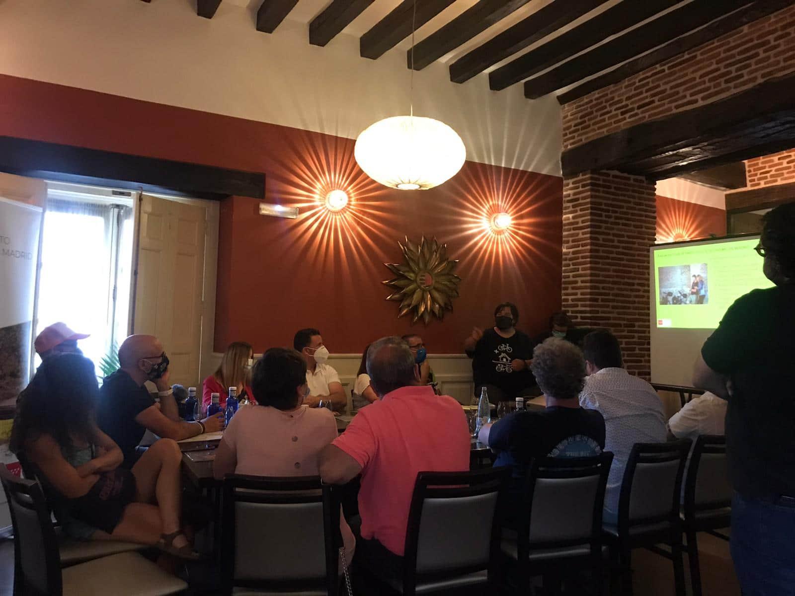 Presentación Sierra Oeste y Club producto CiclaMadrid