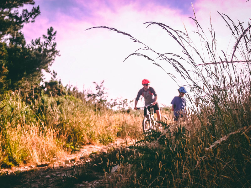cicloturismo en San Martín de Valdeiglesias