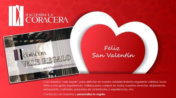 Vale regalo San Valentín Hacienda La Coraceraa Coracera