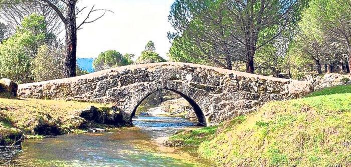 puente en La Adrada - Hacienda La Coracera
